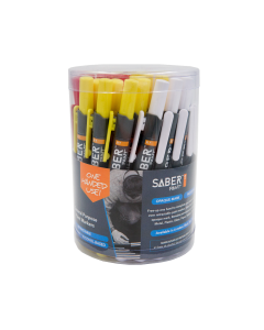 Saber Paint RT - 36CT, Yellow, Red, White