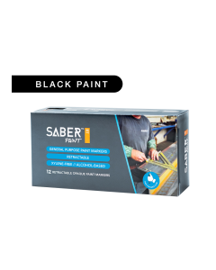 Saber Paint RT - Black, Dozen