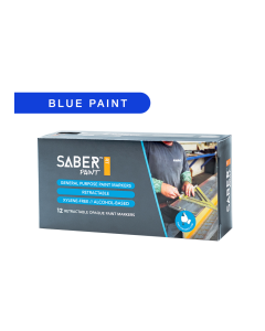 Saber Paint RT - Blue, Dozen