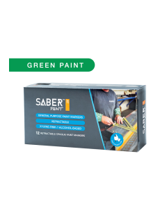 Saber Paint RT - Green, Dozen