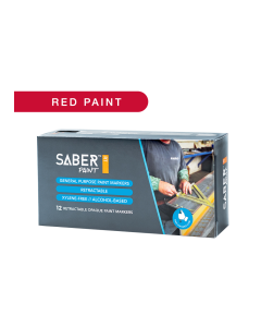 Saber Paint RT - Red, Dozen