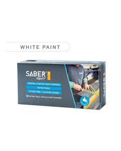 Saber Paint RT - White, Dozen