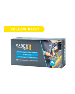 Saber Paint RT - Yellow, Dozen