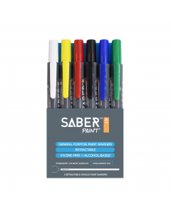 Saber Paint RT - Assorted, 6 Pack